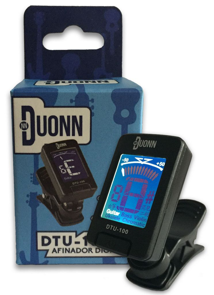 Afinador Cromático Digital Dylan Duonn DTU100 B