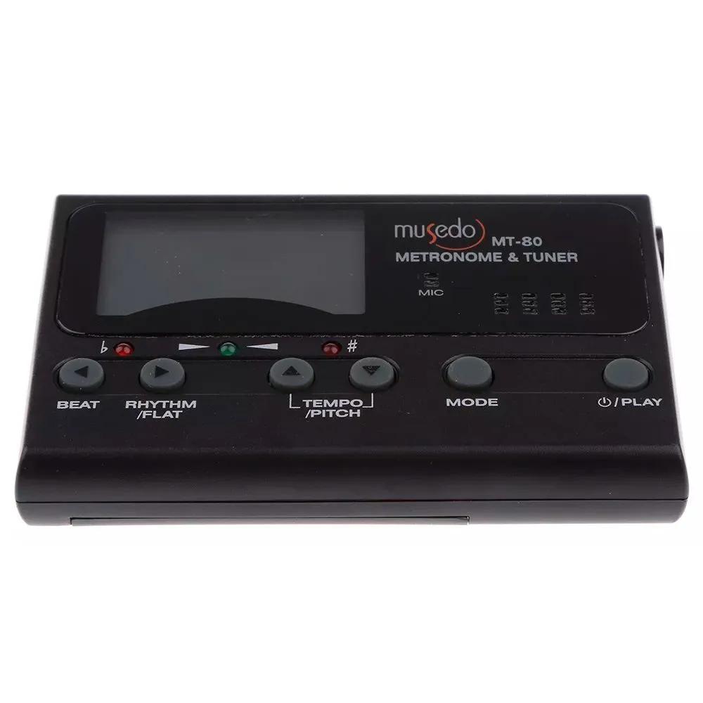 Afinador e Metrônomo Musedo MT-80 Digital Clip