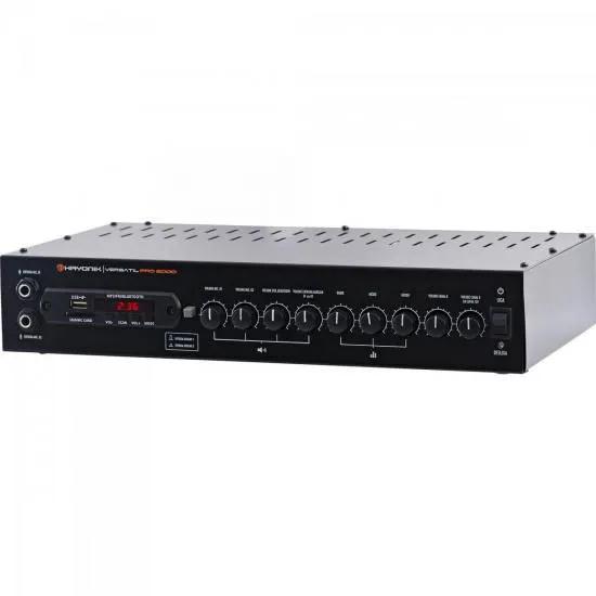 Amplificador 200W com Bluetooth VERSATIL PRO 2000 Preto HAYONIK