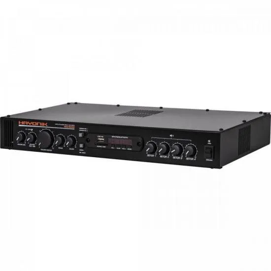 Amplificador 400W RMS Multi Setores MS4000 HAYONIK