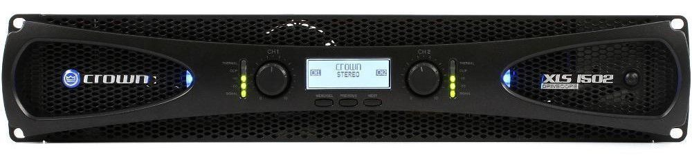 Amplificador de Áudio Crown XLS 1502 Professional Power Amplifier