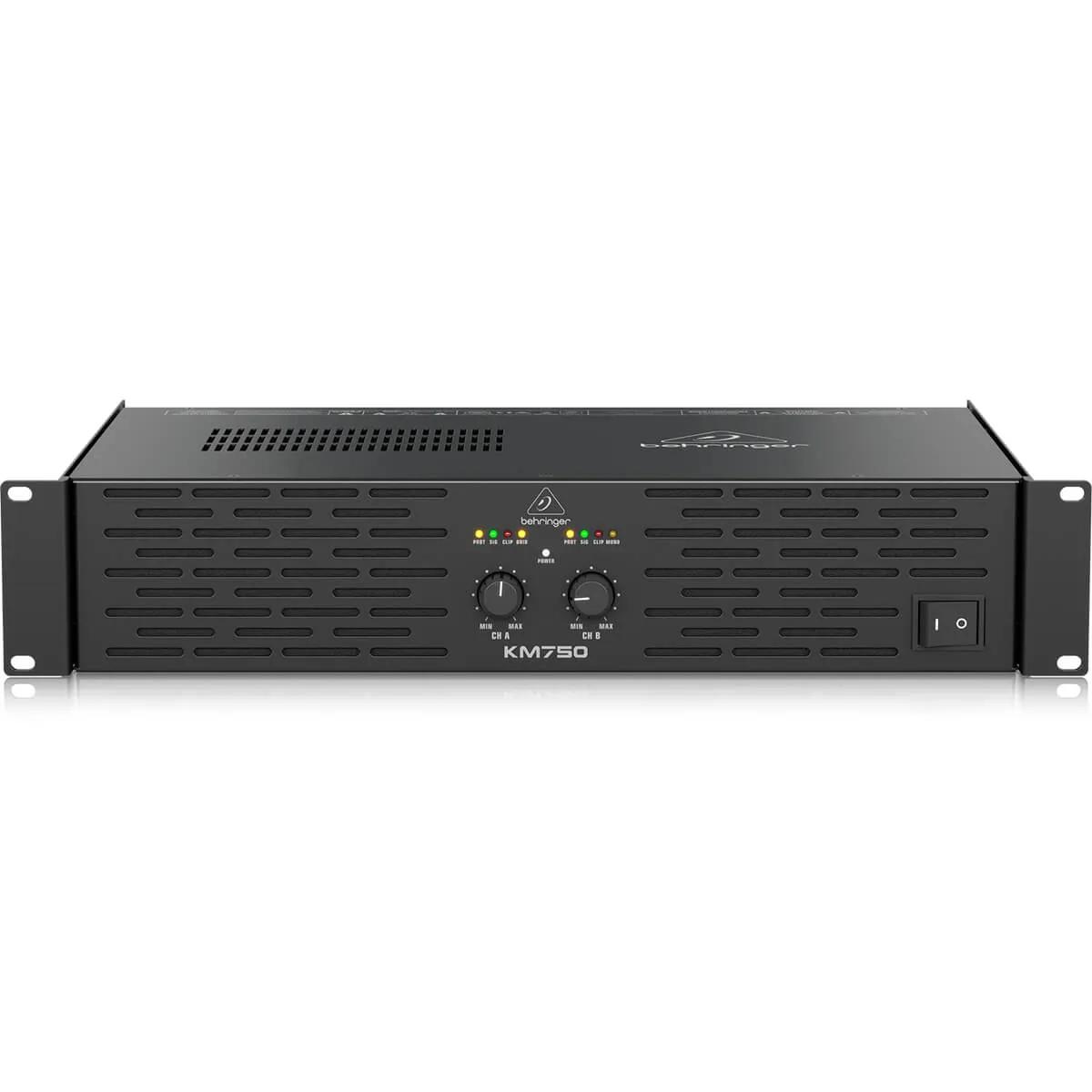 Amplificador de Pontencia Behringer KM750 750W de 2 Canais