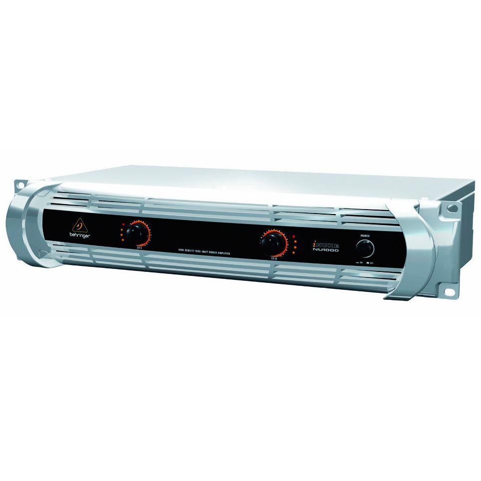 Amplificador de Potência Behringer Inuke NU1000 1000W