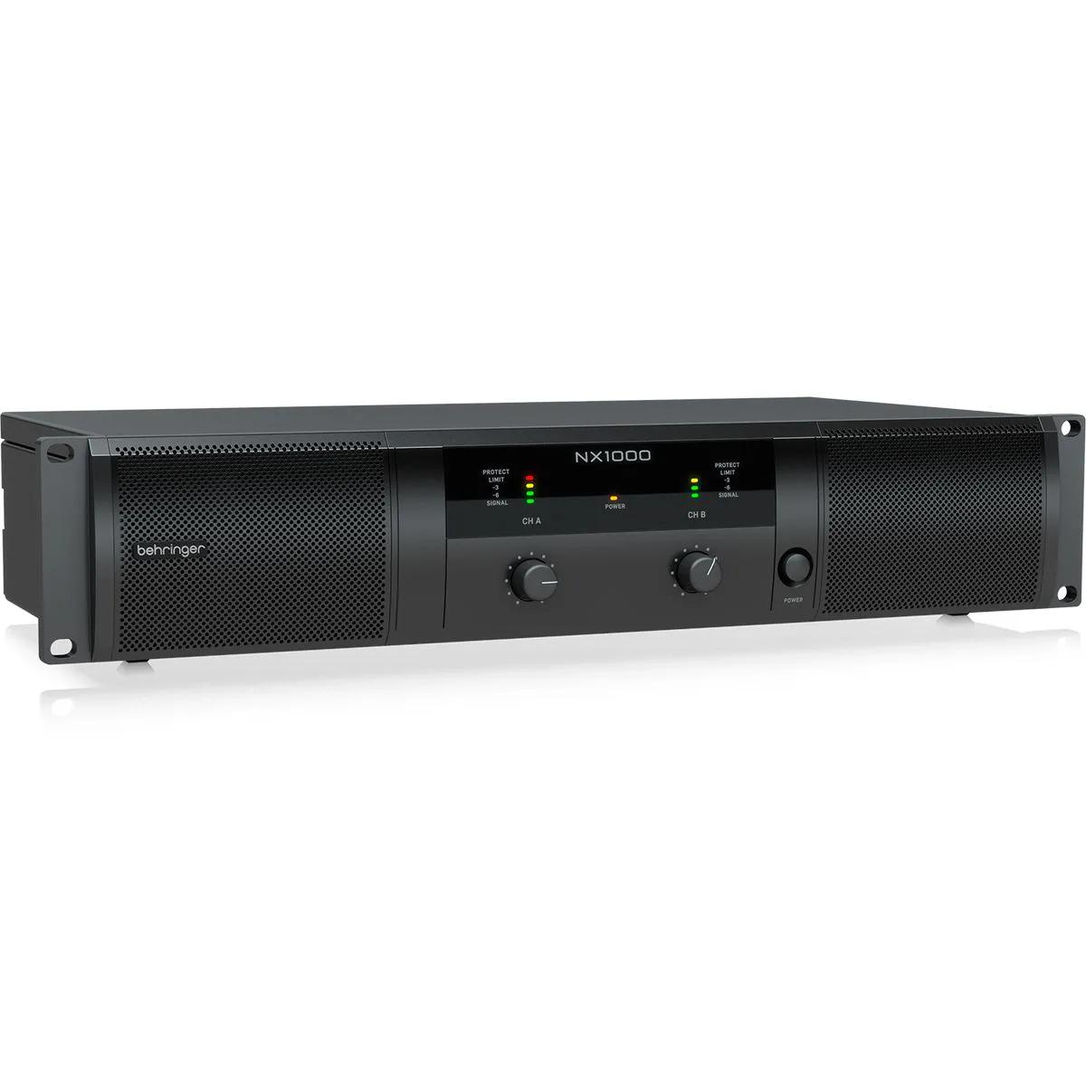 Amplificador de Potência Behringer NX1000 1000W 2 Canais