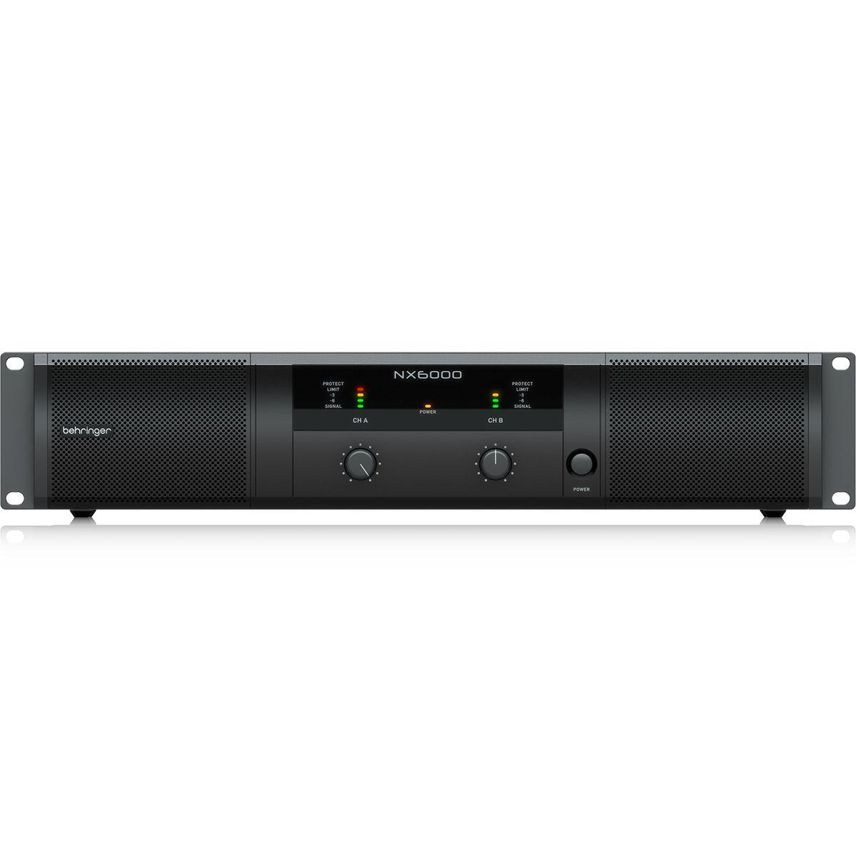 Amplificador de Potência Behringer NX6000 6000W 2 Canais