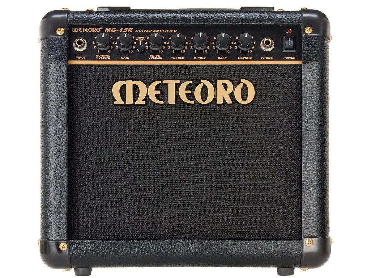 Amplificador Meteoro MG15R Reverb 1X6 15w para Guitarra