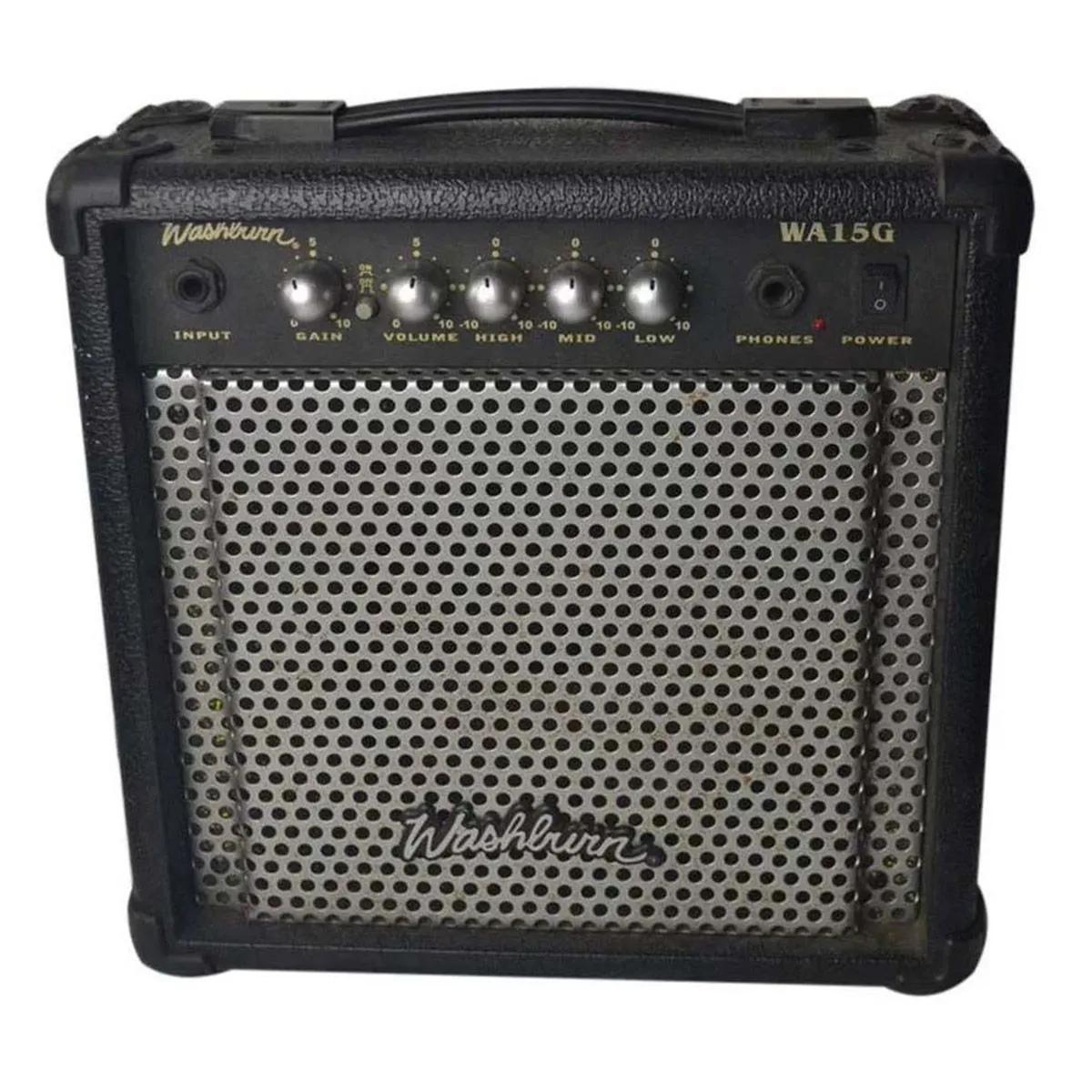 Amplificador Washburn WA15G 1x15 15w para Guitarra