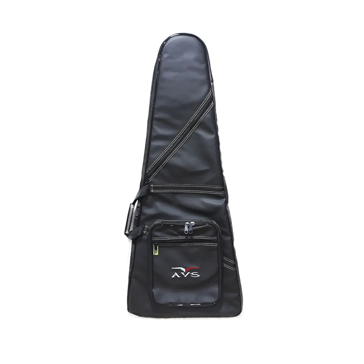 Bag Capa Avs Bic013ex Executive Preto Para Guitarra Flying V