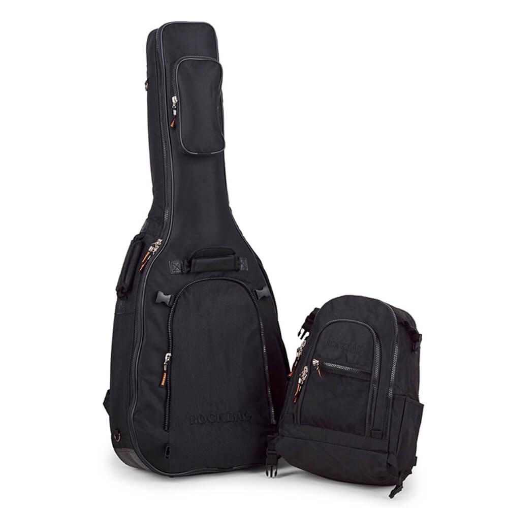 Bag Capa Rockbag RB 20459 B Crosswalker para Violão Folk