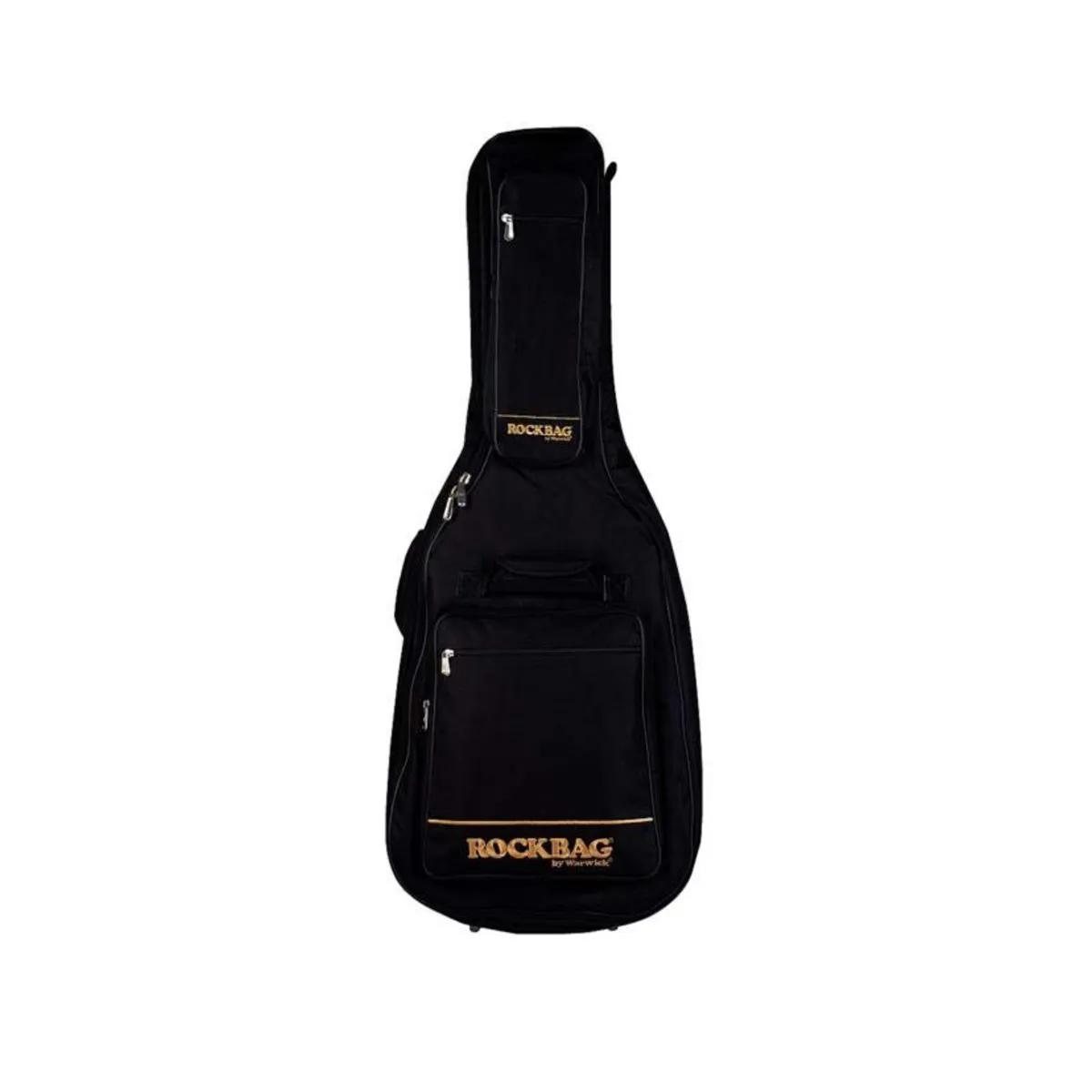 Bag Capa Rockbag RB 20709 B Royal Premium para Violão Folk