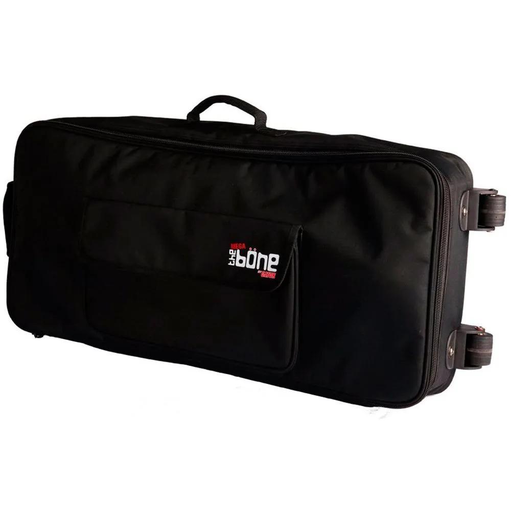 Bag Gator G-MEGA-BONE-W com Rodízio para 10 Pedais