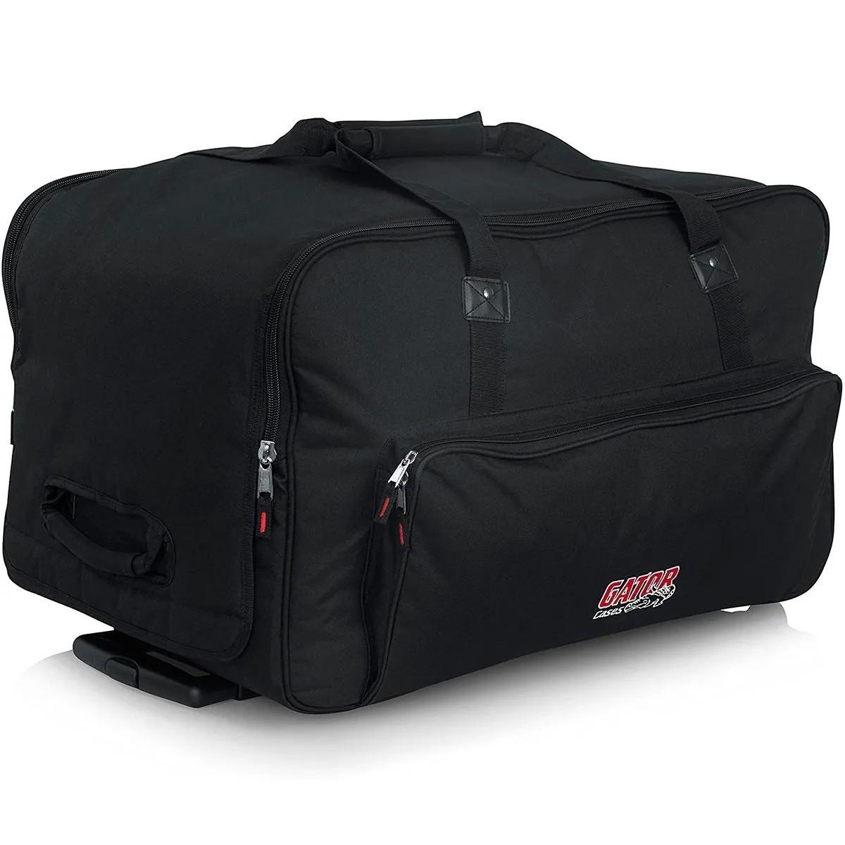 Bag Gator GPA-712LG para Caixa Acústica com Alça e Rodas 12