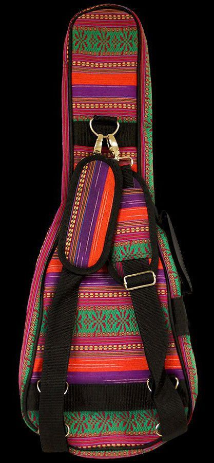 Bag Ohana UB-21 Multi-Color Canvas para Ukulele Soprano