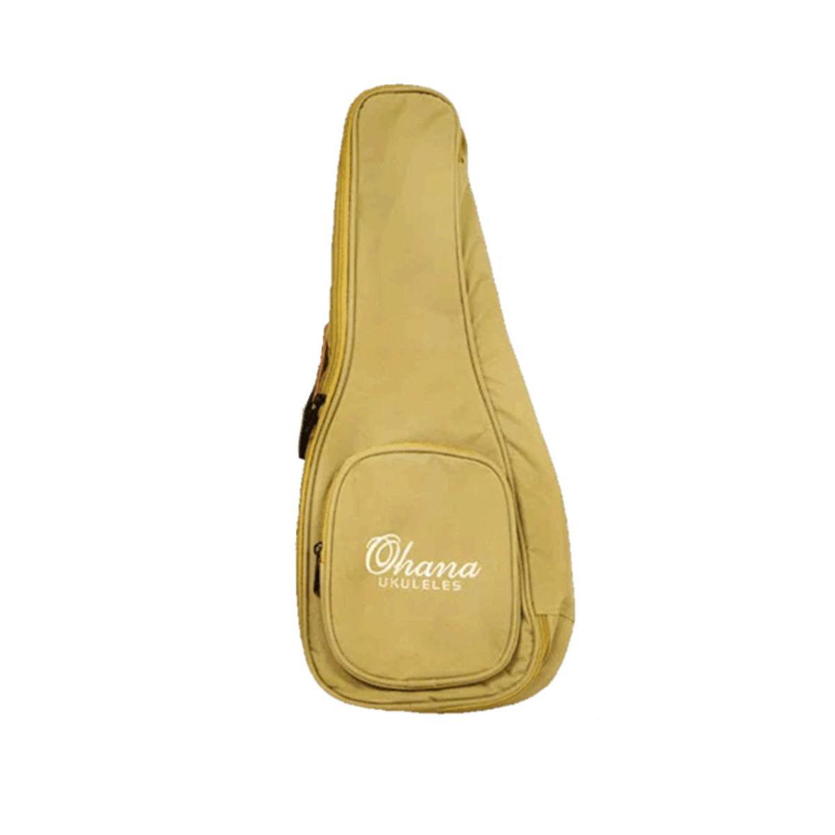 Bag Ohana UB-21 para Ukulele Soprano Bege