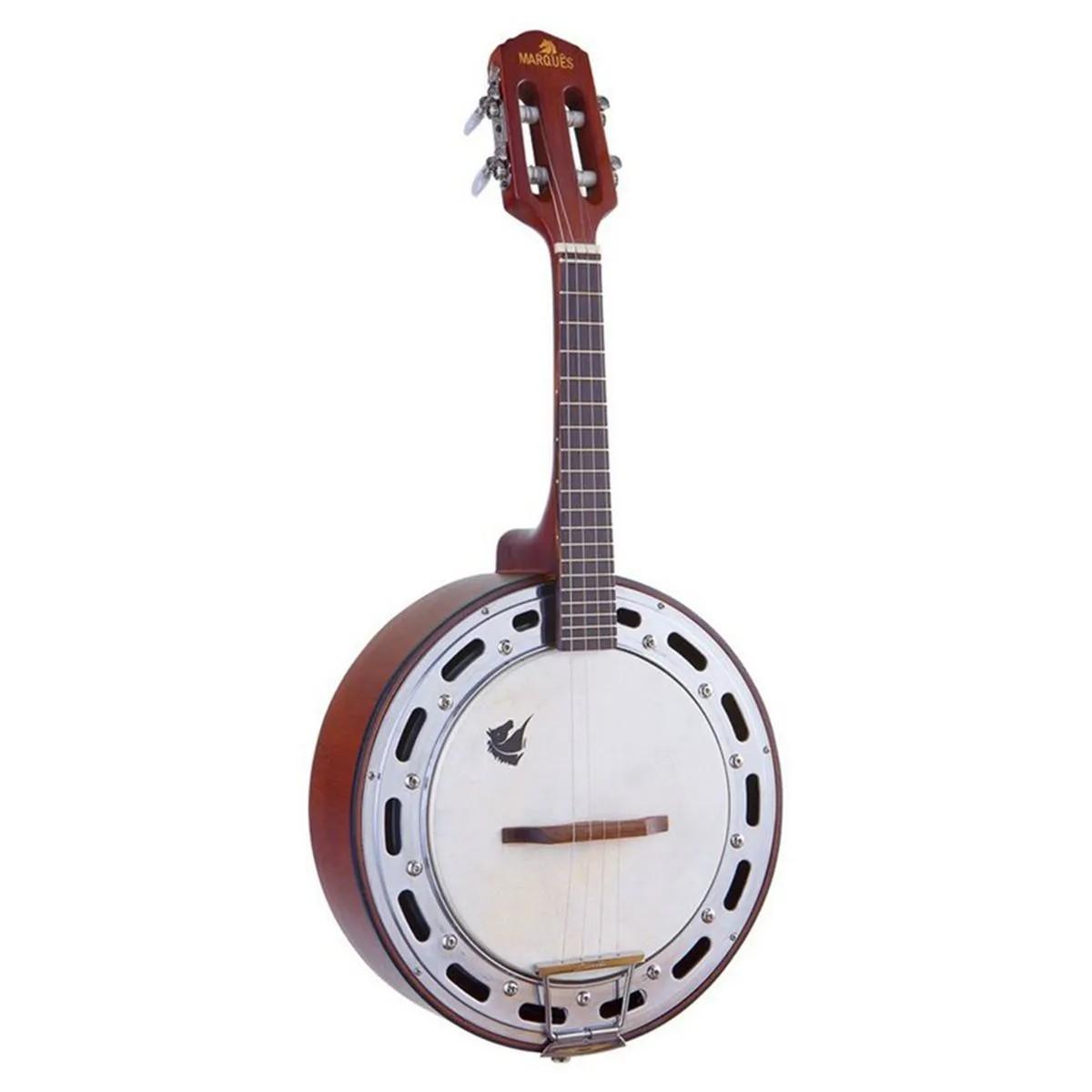Banjo Acústico Marquês BAJ-87 4 Cordas Castanho