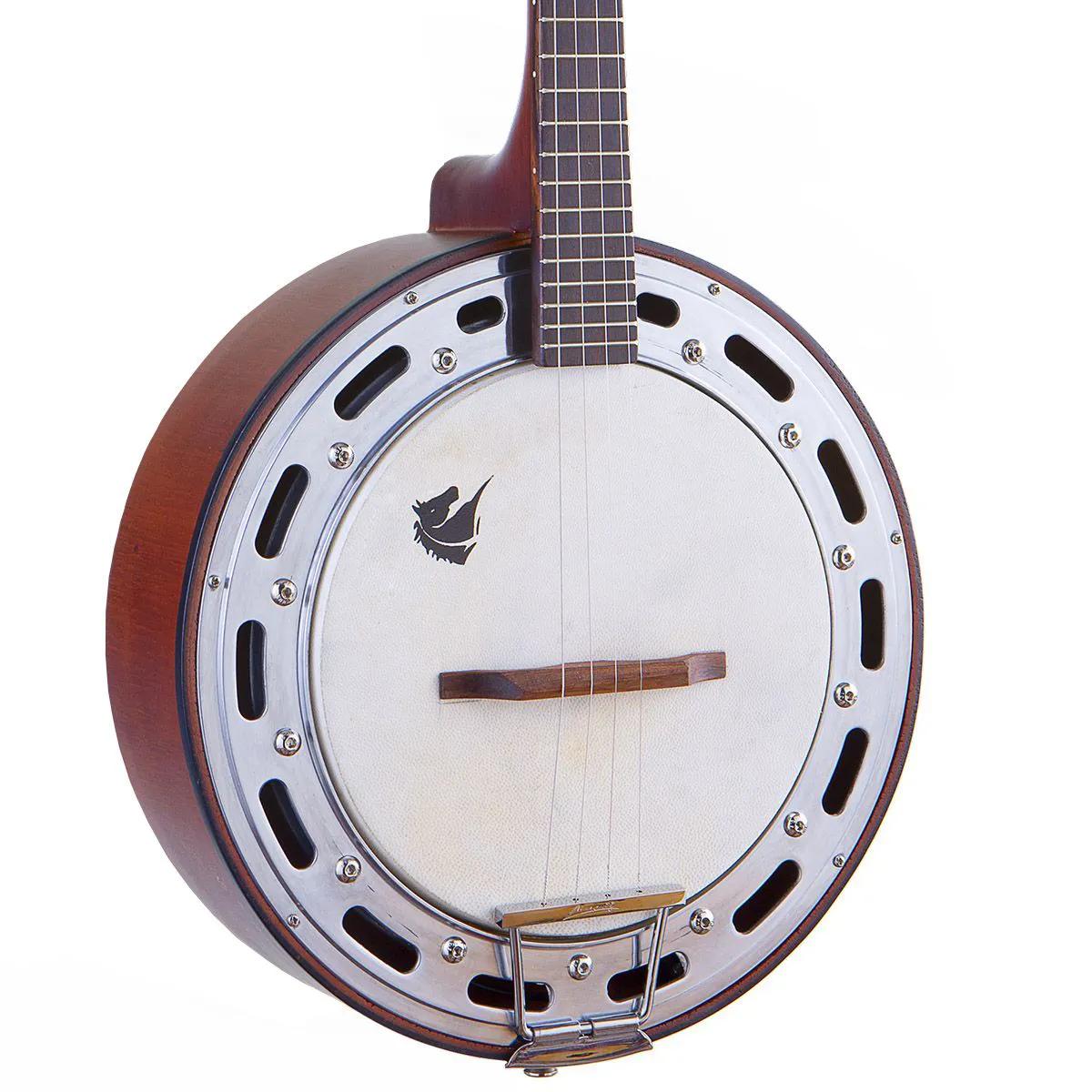 Banjo Eletro-Acústico Marquês BAJ-87 Passivo Castanho