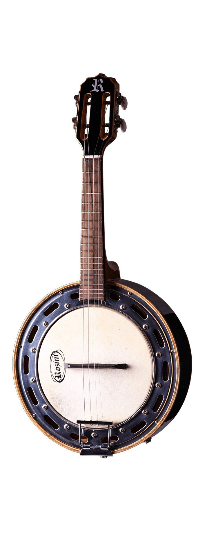 Banjo Eletro-Acústico Rozini RJ11ELP Studio Caixa Larga Preto