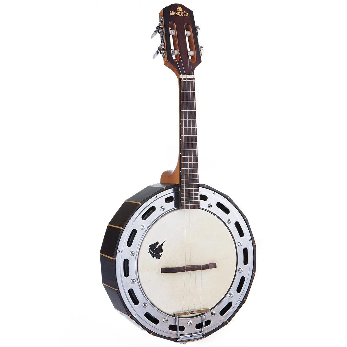 Banjo Jacarandá Acústico Marquês BAJ-99 Natural