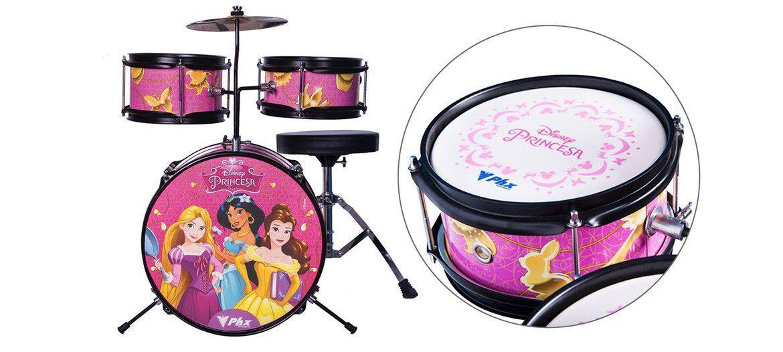 Bateria Acústica PHX BID-P2 Disney Princesas 14
