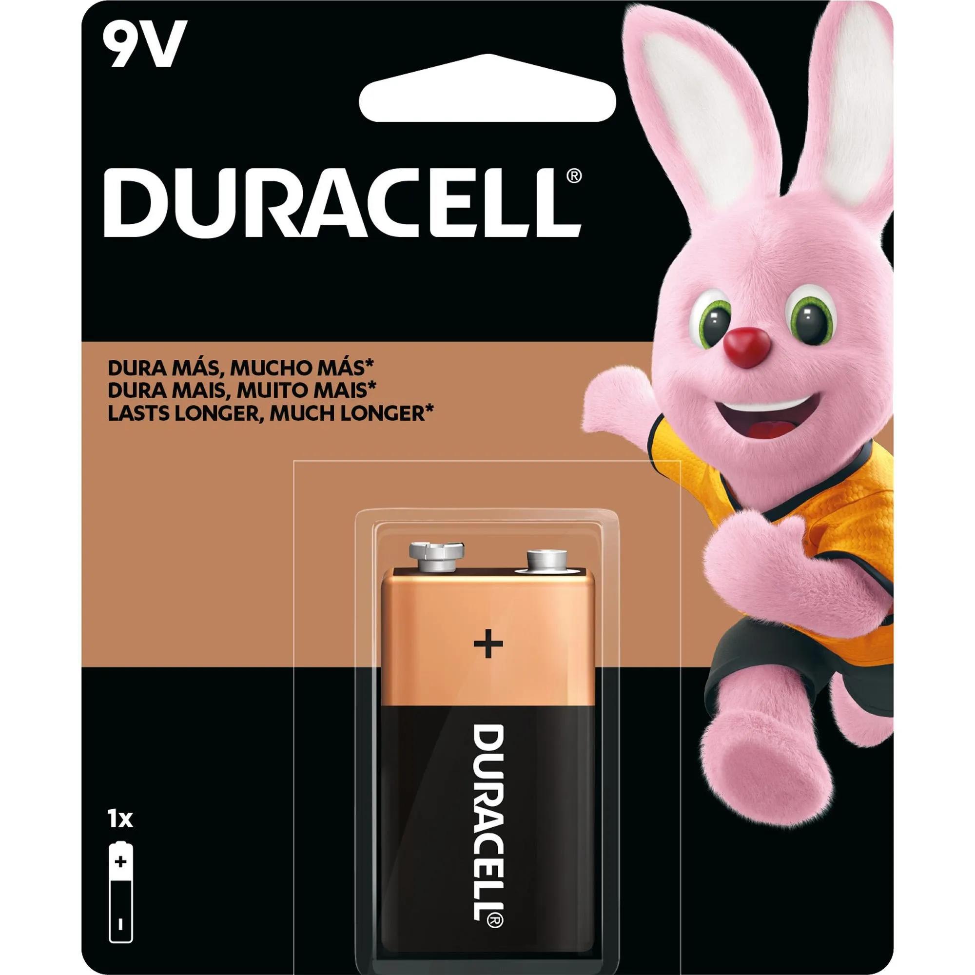 Bateria Alcalina 9V MN1604(Caixa c/12 baterias)(cartela c/1 bateria) DURACELL - DZ / 12