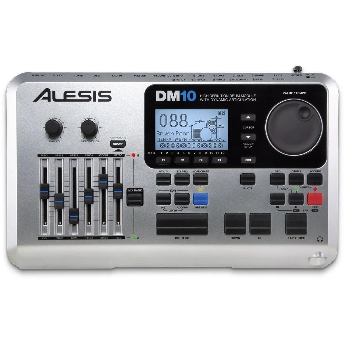 Bateria Eletrônica Alesis DM10 Studio Kit