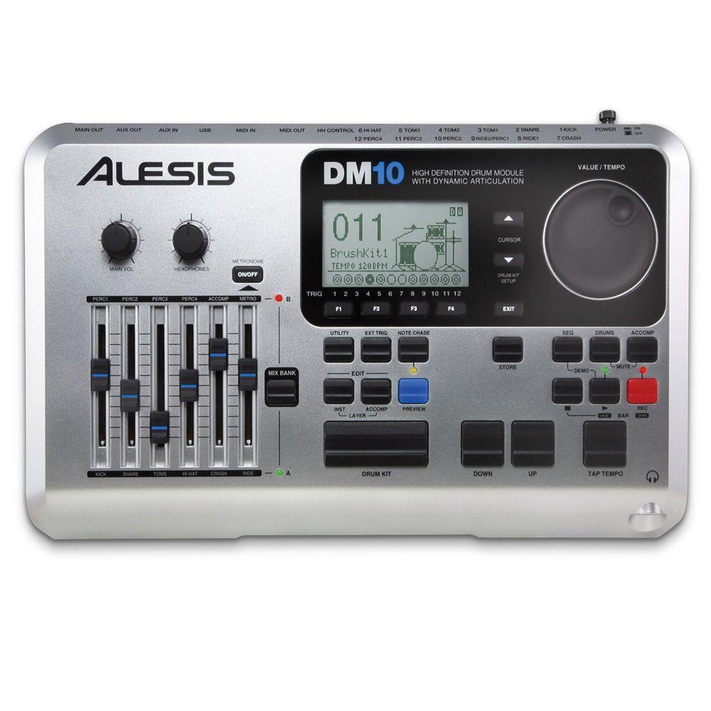 Bateria Eletrônica Alesis Dm10x Kit