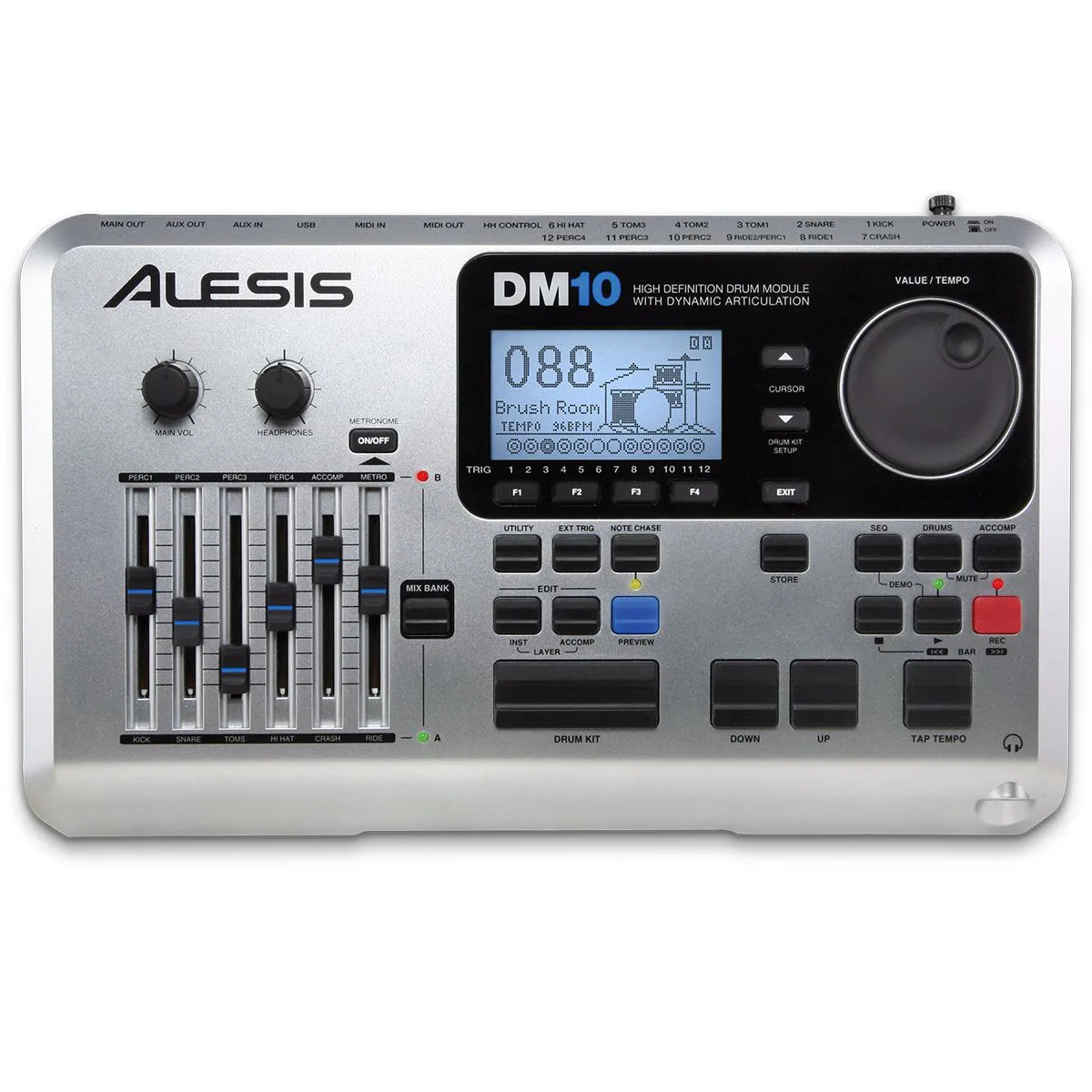 Bateria Eletrônica Alesis DM10X Mesh Kit