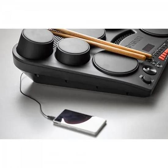 Bateria Eletrônica com Fonte DD-75 Preta YAMAHA