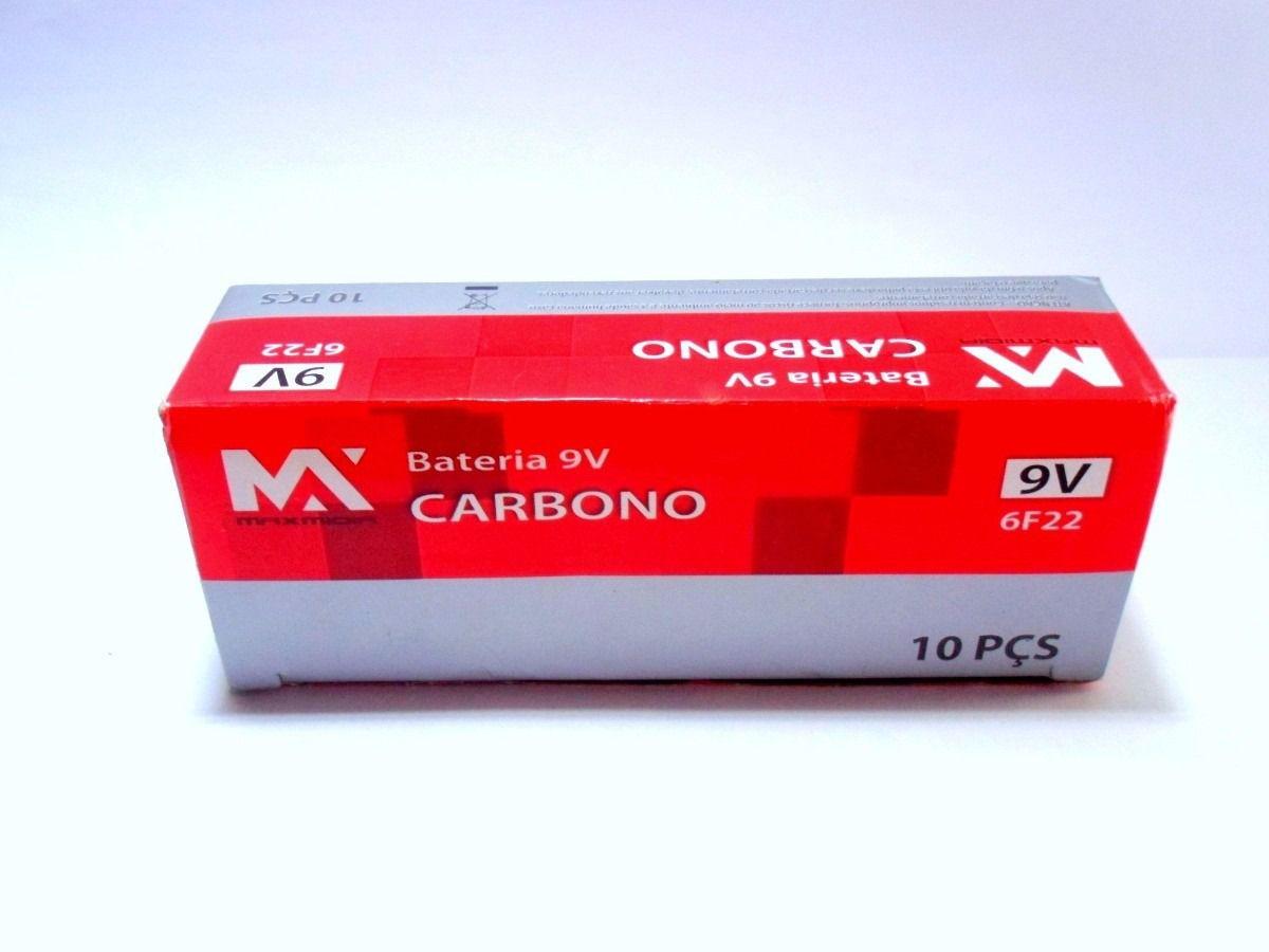 Bateria MaxMidia 6F22 9v para Instrumentos