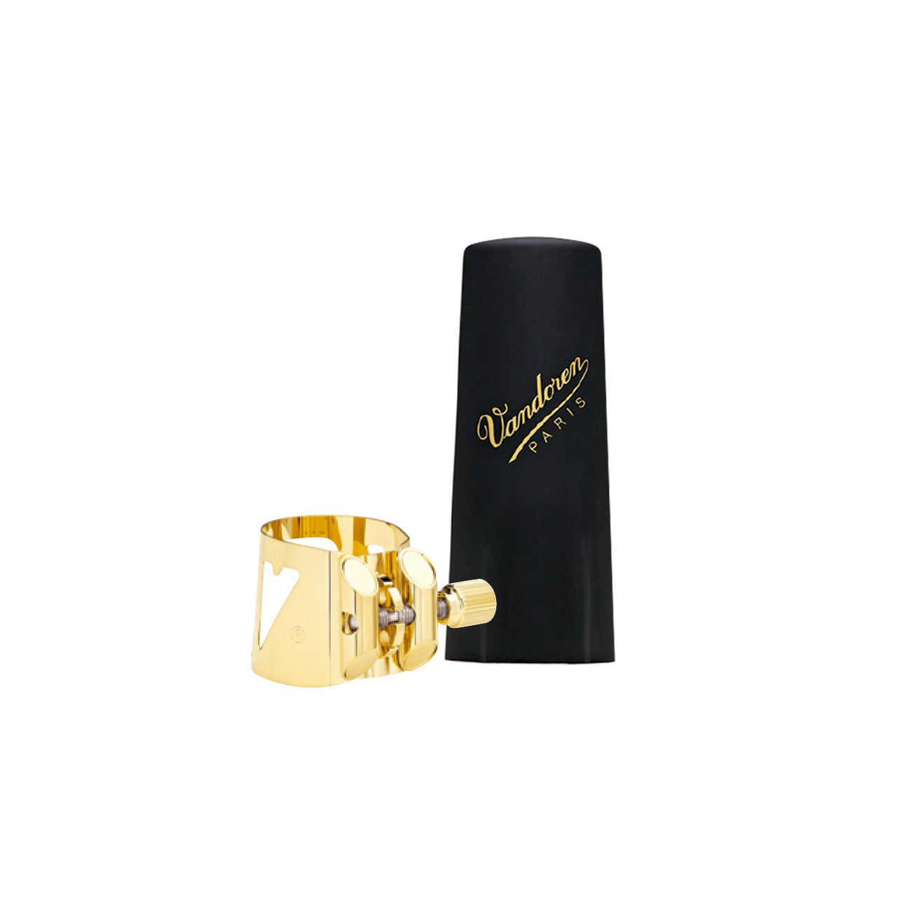 Bracadeira Optimum Dourada Lc06p P/sax Soprano C/cobre Boquilha De Plastico Lc06p Vandoren