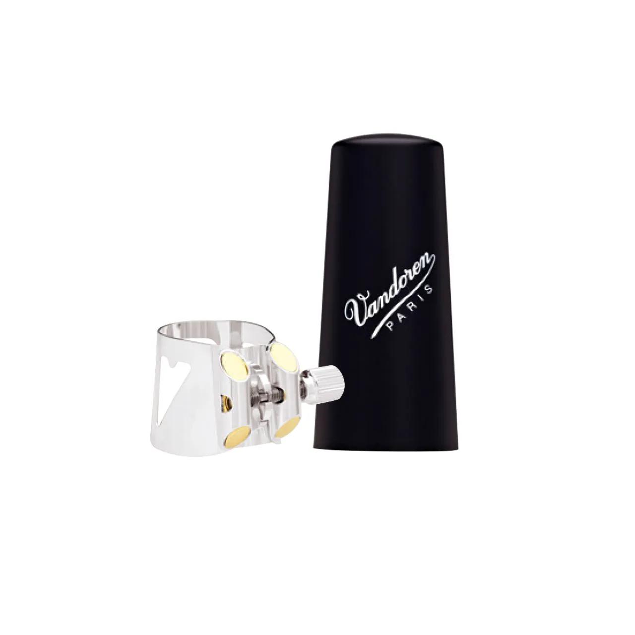 Bracadeira Optimum Prata Lc02p P/clarinete Eb C/cobre Boquilha De Plastico Lc02p Vandoren