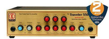 Cabeçote Eden WT550 Traveler Bass 500w para Contrabaixo