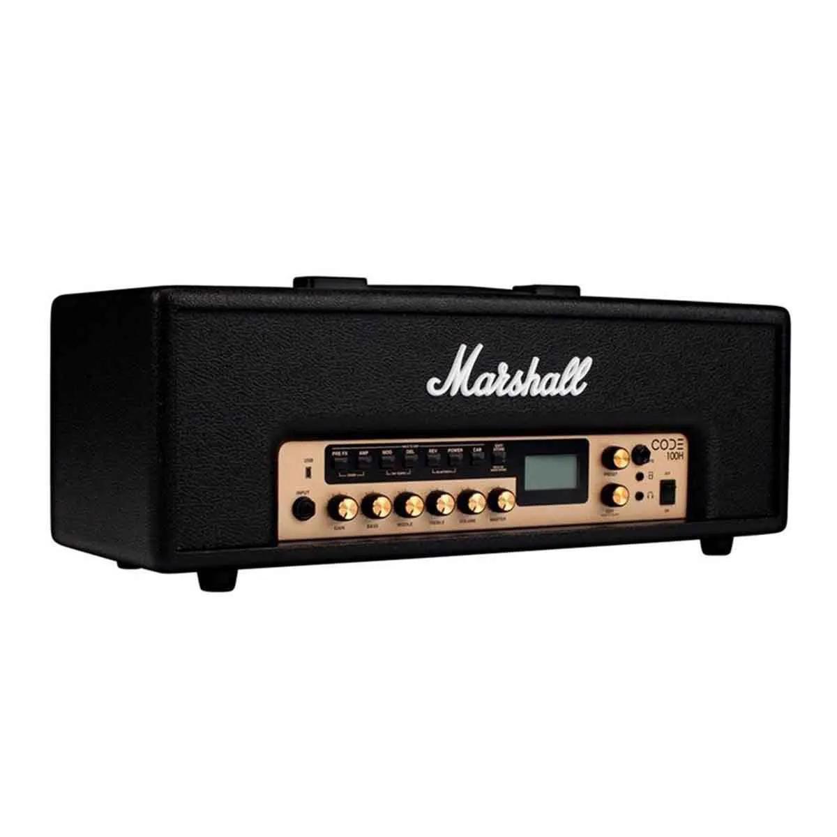 Cabeçote Marshall CODE100H 100W para Guitarra