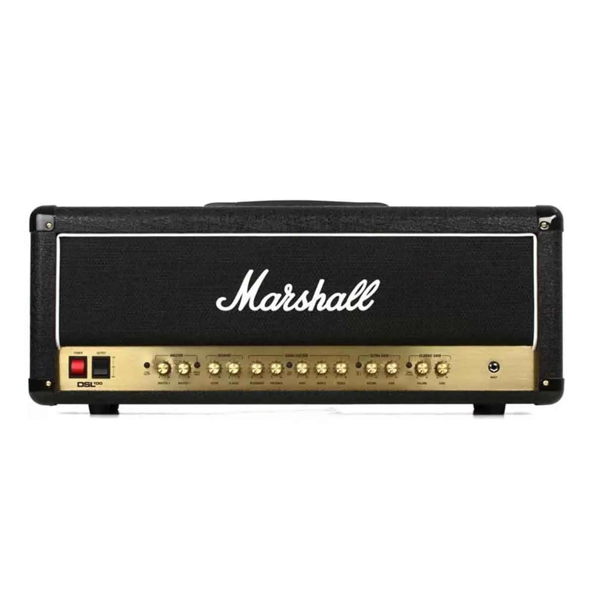 Cabeçote Marshall DSL100HR 100W para Guitarra