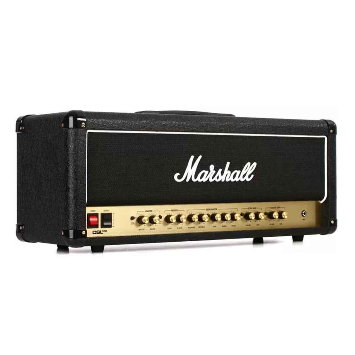 Cabeçote Marshall DSL100HR 100W 110V para Guitarra