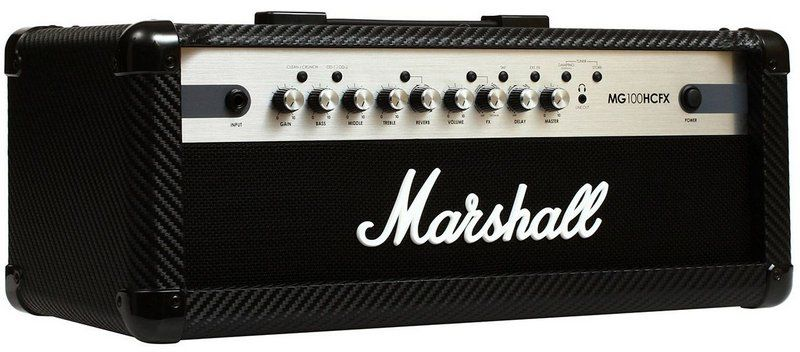 Cabeçote Marshall MG100HCFX 100W para Guitarra