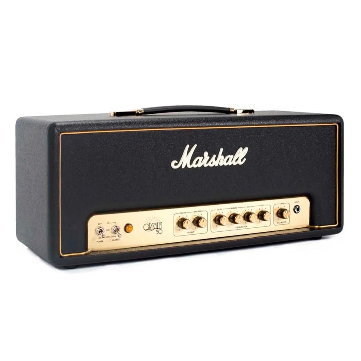 Cabeçote Marshall Origin50H 50W para Guitarra