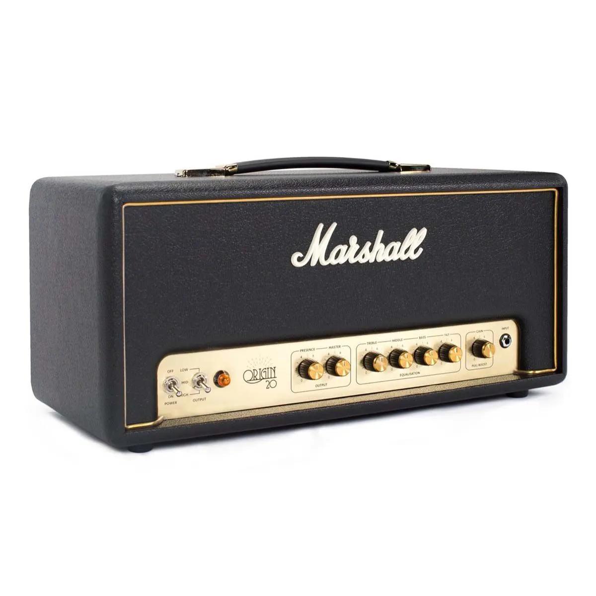 Cabeçote Marshall Origin20H 20W para Guitarra