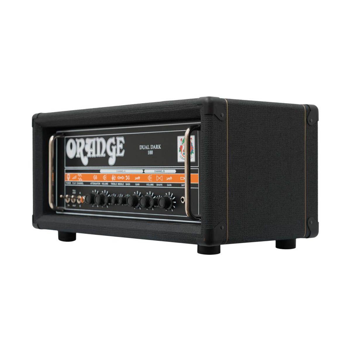 Cabeçote Orange Dual Dark 100W para Guitarra