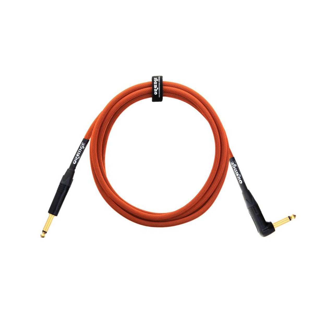 Cabo Orange ANGLED 3,05M P10 para Instrumentos
