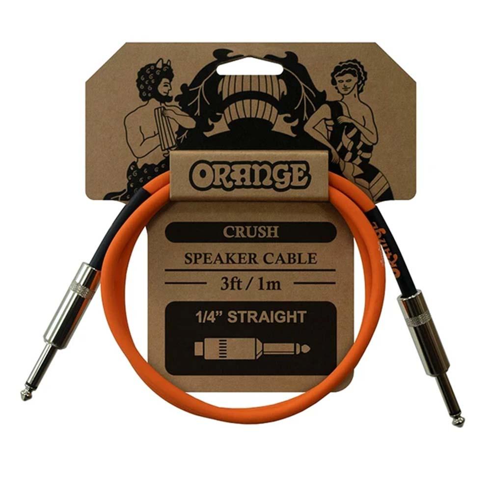 Cabo Orange CA040 Crush Speaker Cable 1Metro P10 P/ Gabinete