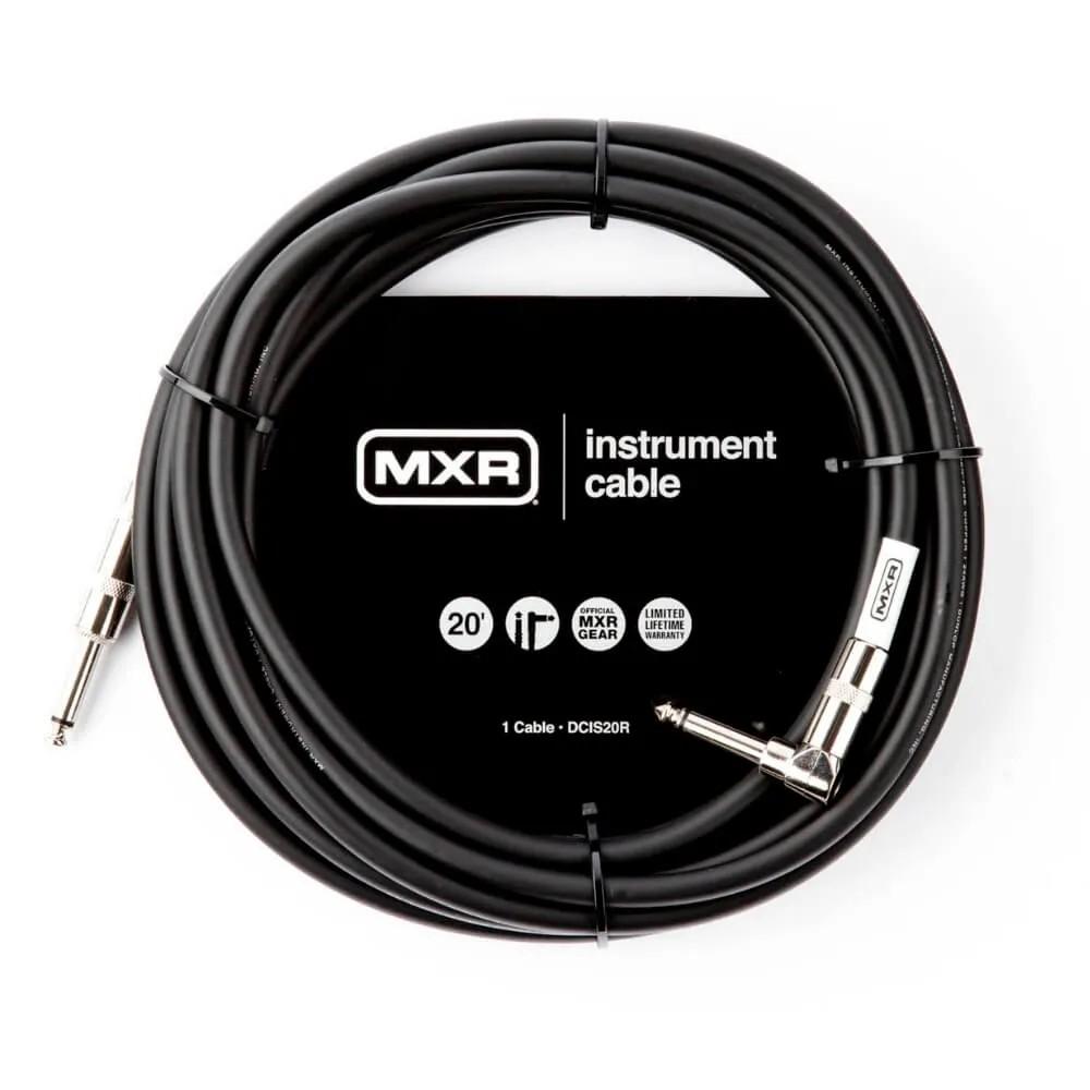 Cabo P/instrumentos 6m Mxr Standard Plug P10 Reto-angular Dcis20r Dunlop