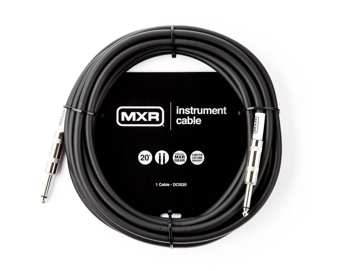 Cabo P/instrumentos 6m Mxr Standard Plug P10 Reto-reto Dcis20 Dunlop
