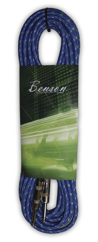 Cabo para Instrumento P10 Benson GC059B 3M Azul