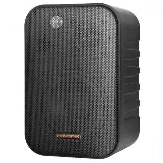 Caixa Acústica 60W AMBIENCE LINE MSB406B Preta HAYONIK - PAR / 2