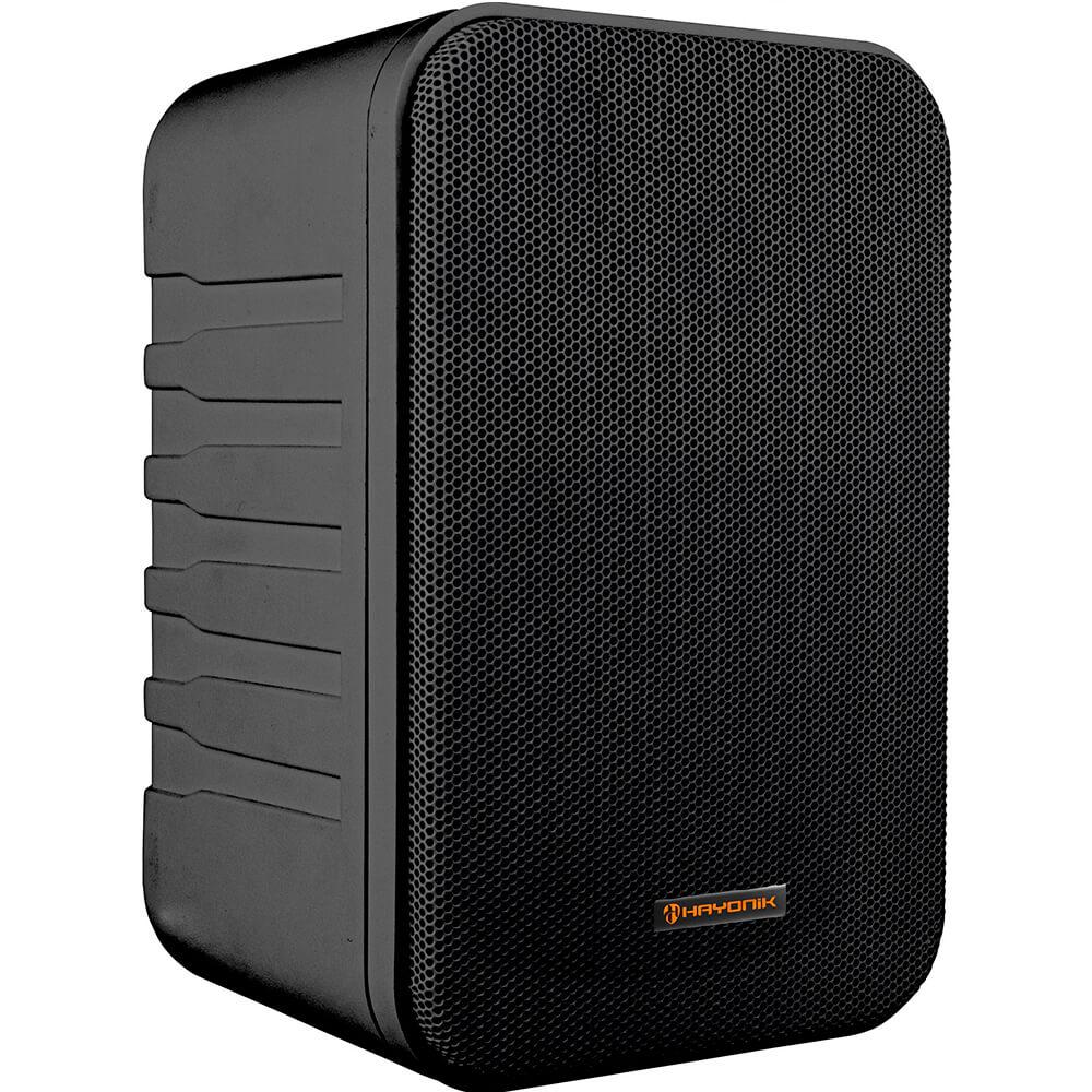 Caixa Acústica 60W MSB60N Preta HAYONIK - PAR / 2
