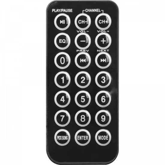 Caixa Acústica Ativa 600W Bluetooth CPA 15600 Preta HAYONIK