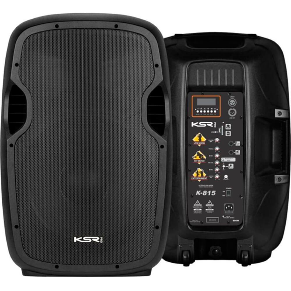 Caixa Acústica Ativa KSR Pro K815 15