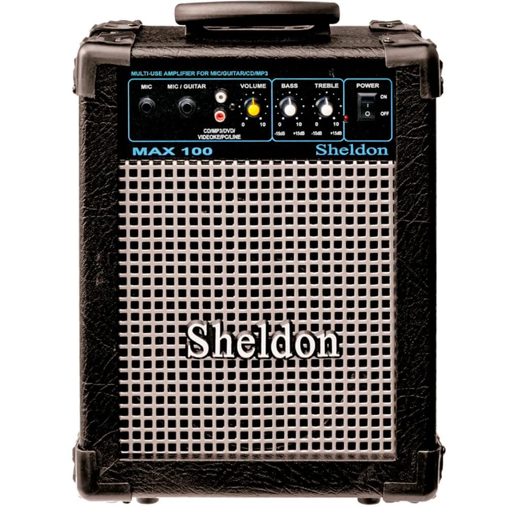 Caixa Acústica Sheldon Max100 15W Multiuso 110/220V