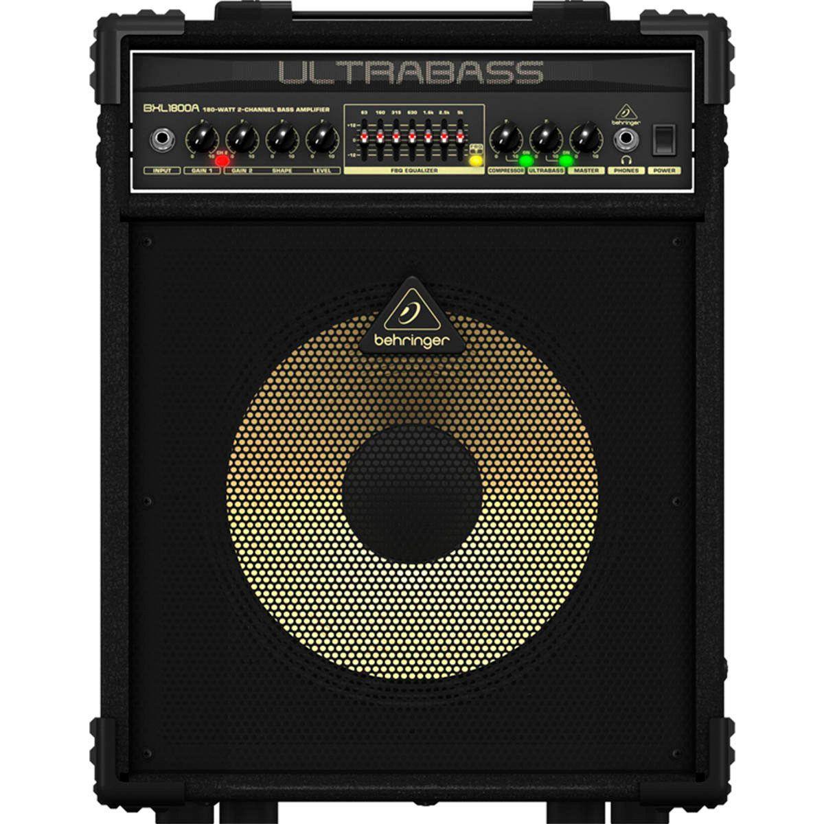 Caixa Amplificada Behringer Ultrabass BXL1800A 180W 1x12